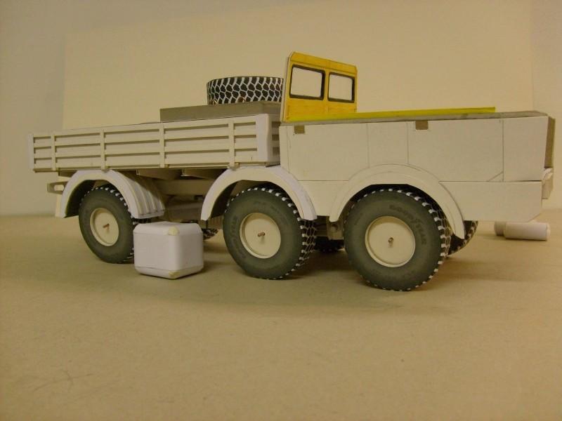 LKW TATRA 813 6x6 M1:20 Eigenbau gebaut von klebegold 91k11