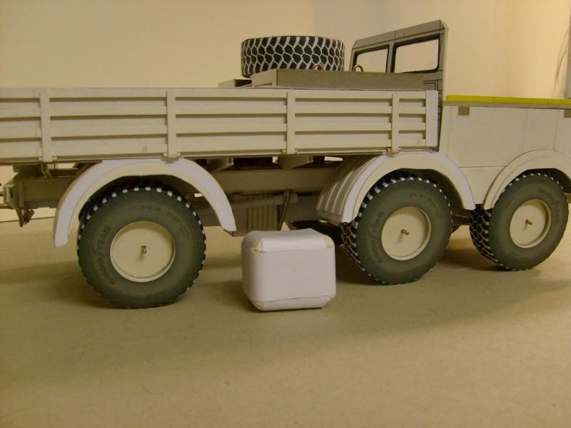 LKW TATRA 813 6x6 M1:20 Eigenbau gebaut von klebegold 92k10