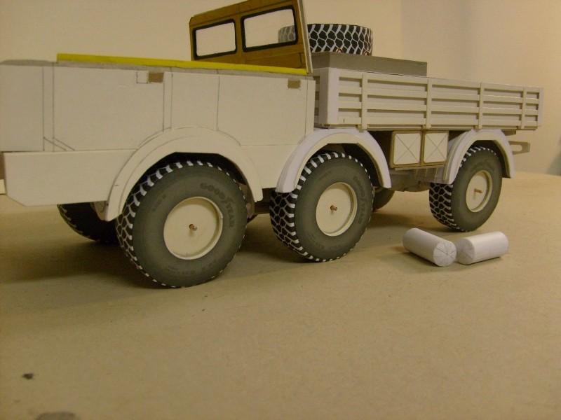 LKW TATRA 813 6x6 M1:20 Eigenbau gebaut von klebegold 93k10
