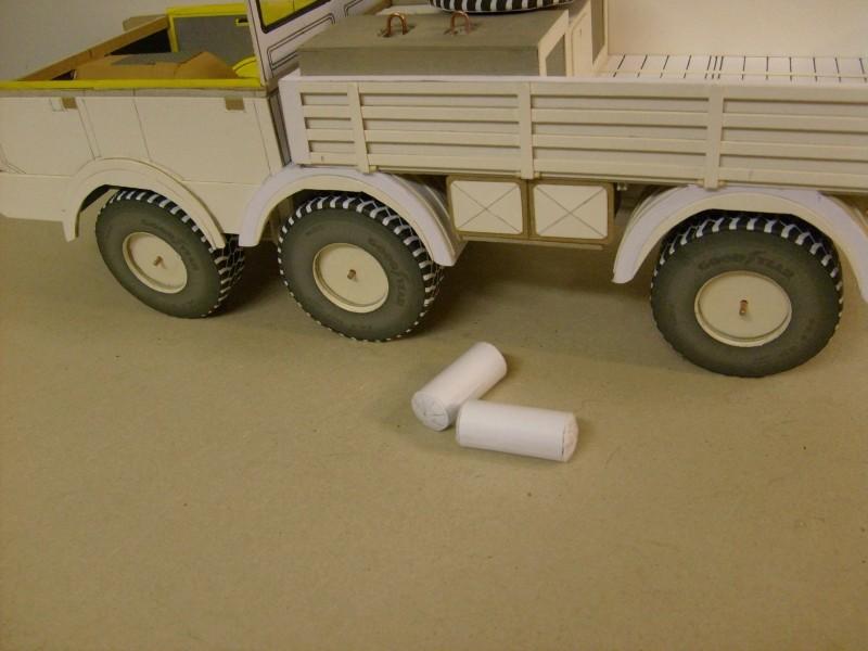 LKW TATRA 813 6x6 M1:20 Eigenbau gebaut von klebegold 94k10