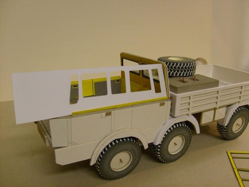 LKW TATRA 813 6x6 M1:20 Eigenbau gebaut von klebegold 97k11