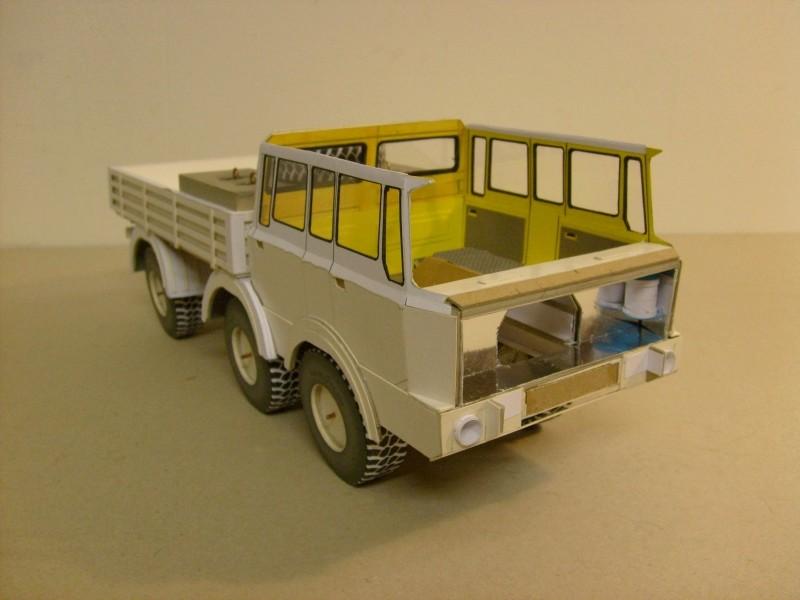 LKW TATRA 813 6x6 M1:20 Eigenbau gebaut von klebegold 99k11