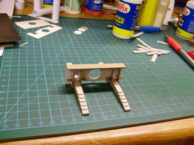 LKW TATRA 813 6x6 M1:20 Eigenbau gebaut von klebegold 9k10