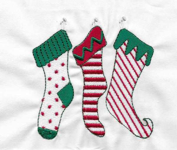 Les broderies déjà terminées pour Noël 2016 ................... 01-cha10