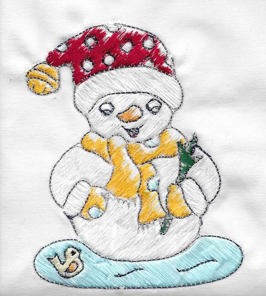 Les broderies déjà terminées pour Noël 2016 ................... 08-bdn10
