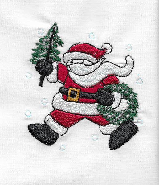 Les broderies déjà terminées pour Noël 2016 ................... 09-non10