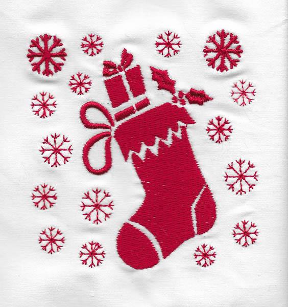 Les broderies déjà terminées pour Noël 2016 ................... 10-bot10