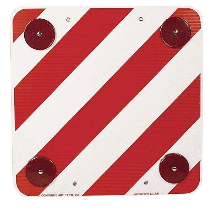 [ESPAGNE]  Panneau de signalisation rouge et blanc  Pannea10