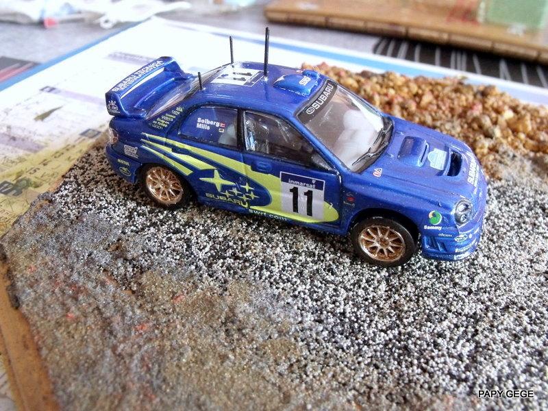 Rallye championship Subaru WRC / Xara WRC / 307 WRC 1/43 HELLER 17-17-10