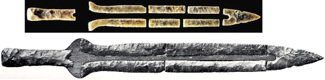 Danish flint swords Stone_10