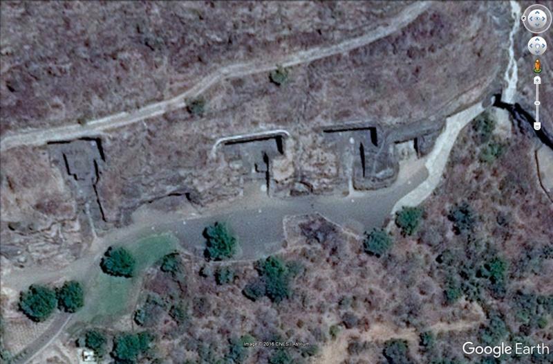 Temple de Kailasa et grottes de Ellora (Inde) Grotte10