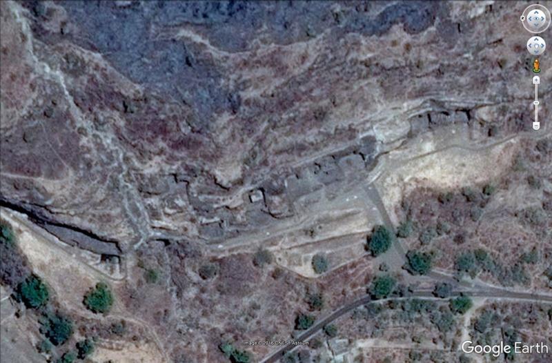 Temple de Kailasa et grottes de Ellora (Inde) Grotte11
