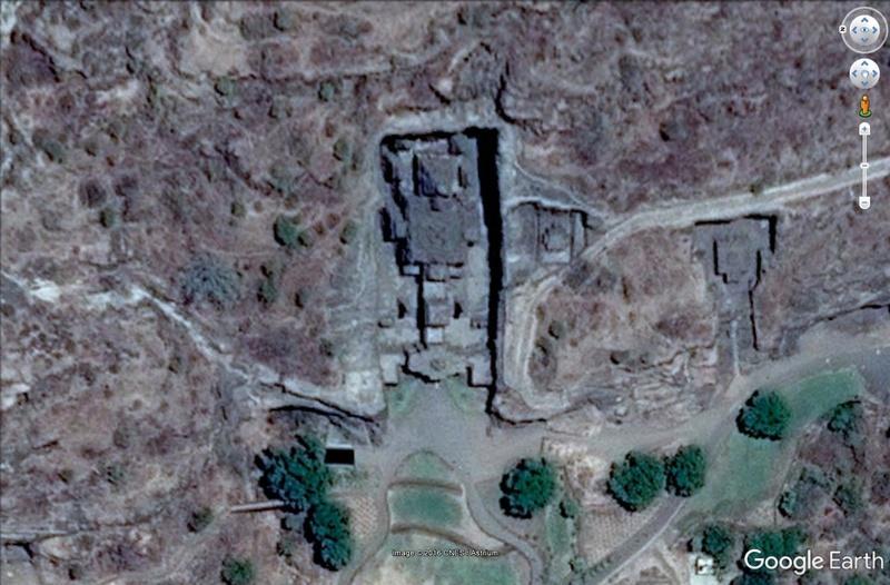Temple de Kailasa et grottes de Ellora (Inde) Temple10
