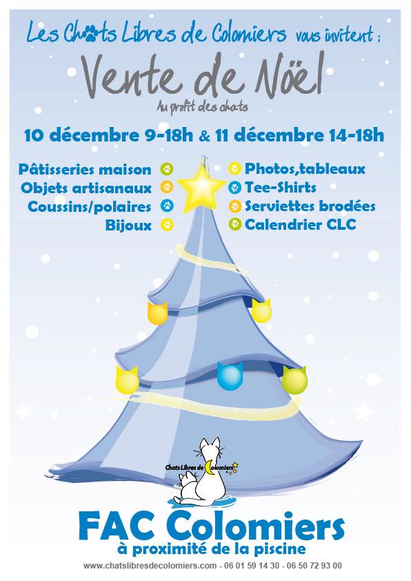 Marché de Noël, 10 et 11 décembre Marche10
