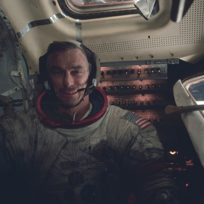Eugene Cernan (1934 - 2017) As17-110