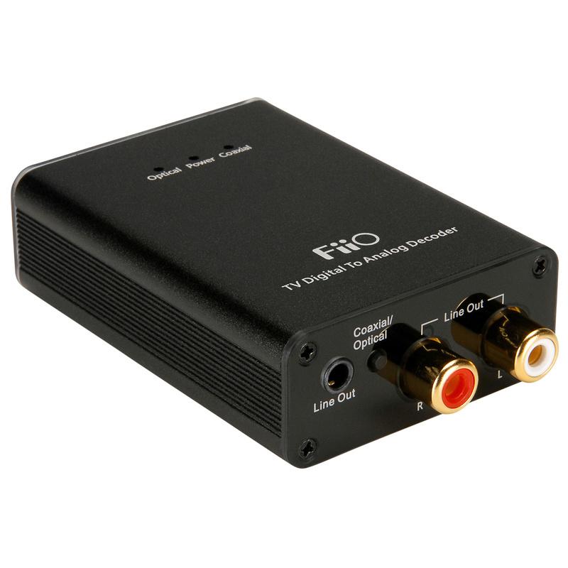 Dac economico con ingresso s/pdif, con codifica dolby/DTS - Stereo per TV Fiio11