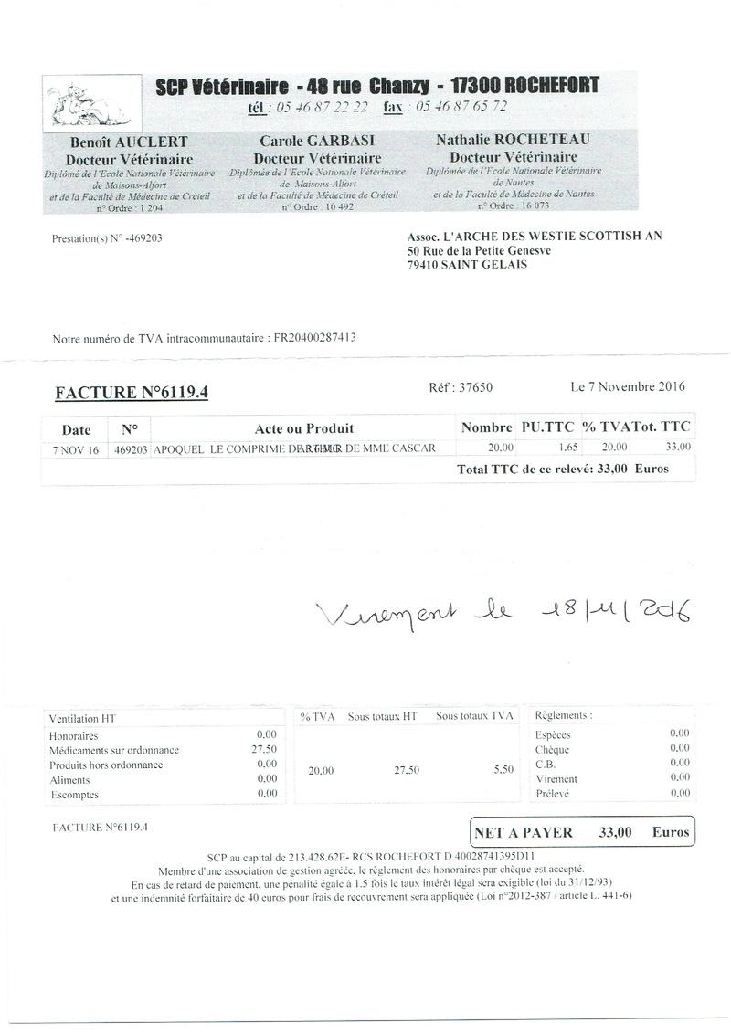 ARTHUR WESTIE NE EN 11/2005 DEPT 17 EN FA  - Page 2 Factur24