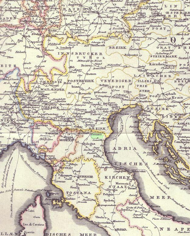 Transitpostverhältnisse Österreichs zu Bayern 1850 - 75 Pic00048