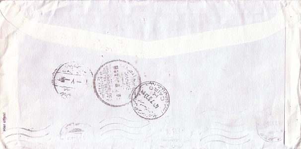 Kurioses Einschreibekuvert Pic00138