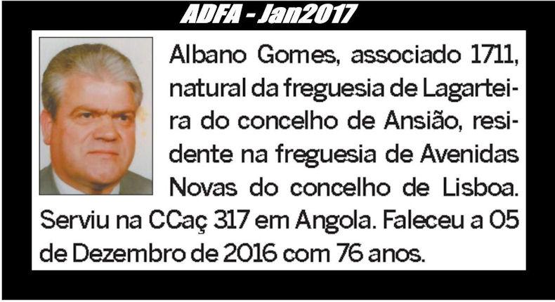 Notas de óbito publicadas no jornal «ELO» da ADFA, do mês de Jan2017 Albano10