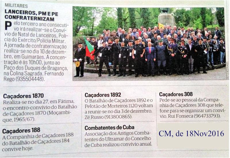 Encontros Convívios de ex-Militares Portugueses, in Correio da Manhã, de 19Nov2016 Cm_20110