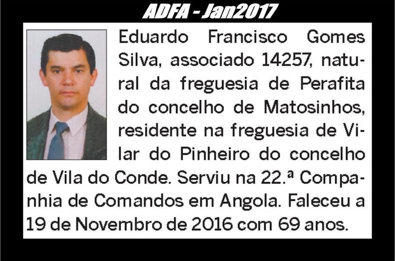 Notas de óbito publicadas no jornal «ELO» da ADFA, do mês de Jan2017 Eduard11