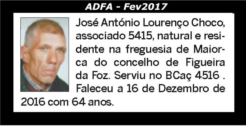 Notas de óbito publicadas no jornal «ELO» da ADFA, do mês de Fev2017 Josy_a11