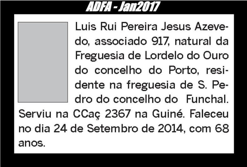 Notas de óbito publicadas no jornal «ELO» da ADFA, do mês de Jan2017 Luis_r10