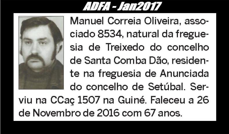Notas de óbito publicadas no jornal «ELO» da ADFA, do mês de Jan2017 Manuel14