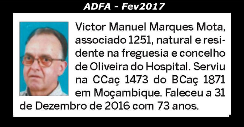 Notas de óbito publicadas no jornal «ELO» da ADFA, do mês de Fev2017 Victor11