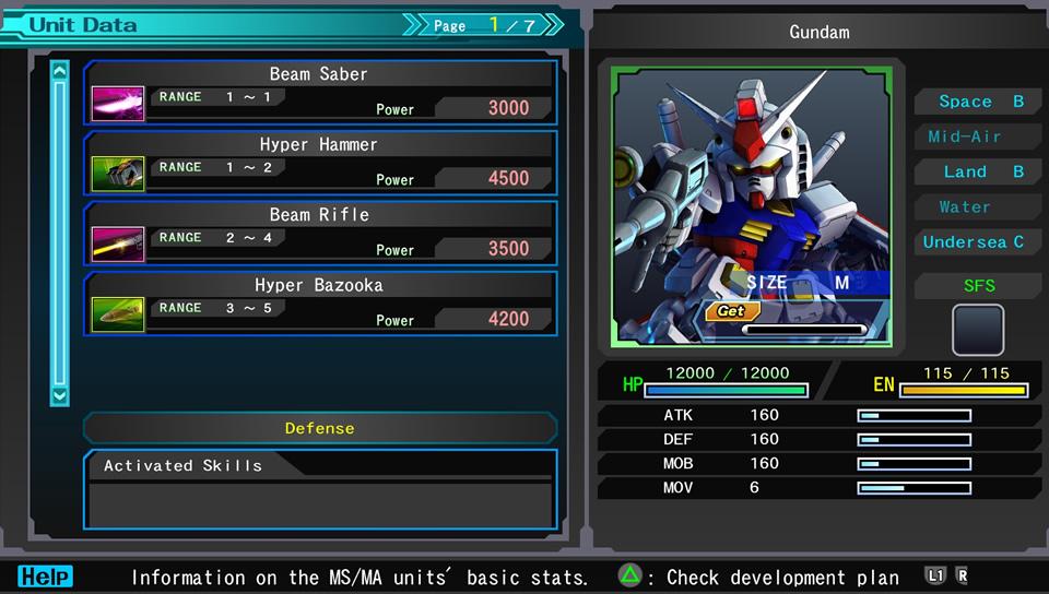 SD Gundam G Generation Genesis [PS4/PSV] Sans_t16