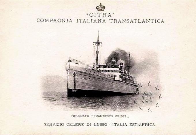 'Francesco Crispi' - Citra - 1925 55_nav10