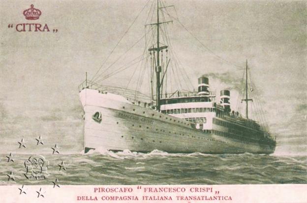 'Francesco Crispi' - Citra - 1925 7_nave10