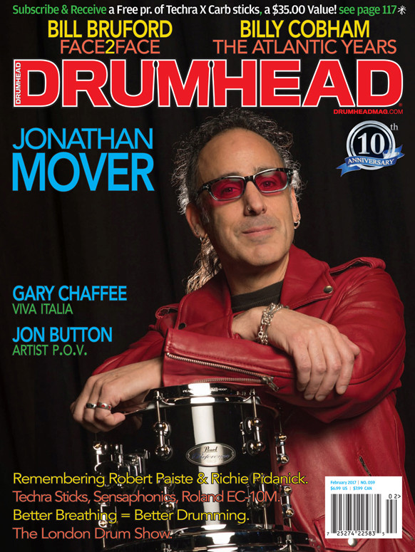 Boomer featured in this month's DRUMHEAD magazine Drum_h11