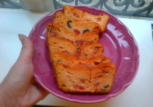 cake au chorizo zt aux olives  Paris-31