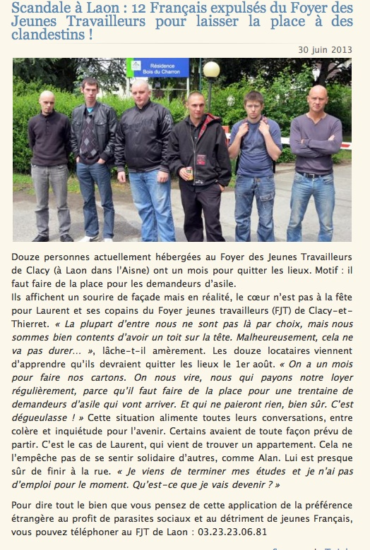 La France à la dérive. Clicha23