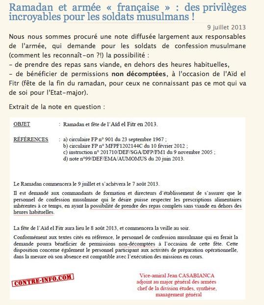 Revue de presse du 8 juillet 2013:Le mariage qui fait honte à la FRANCE Clicha24