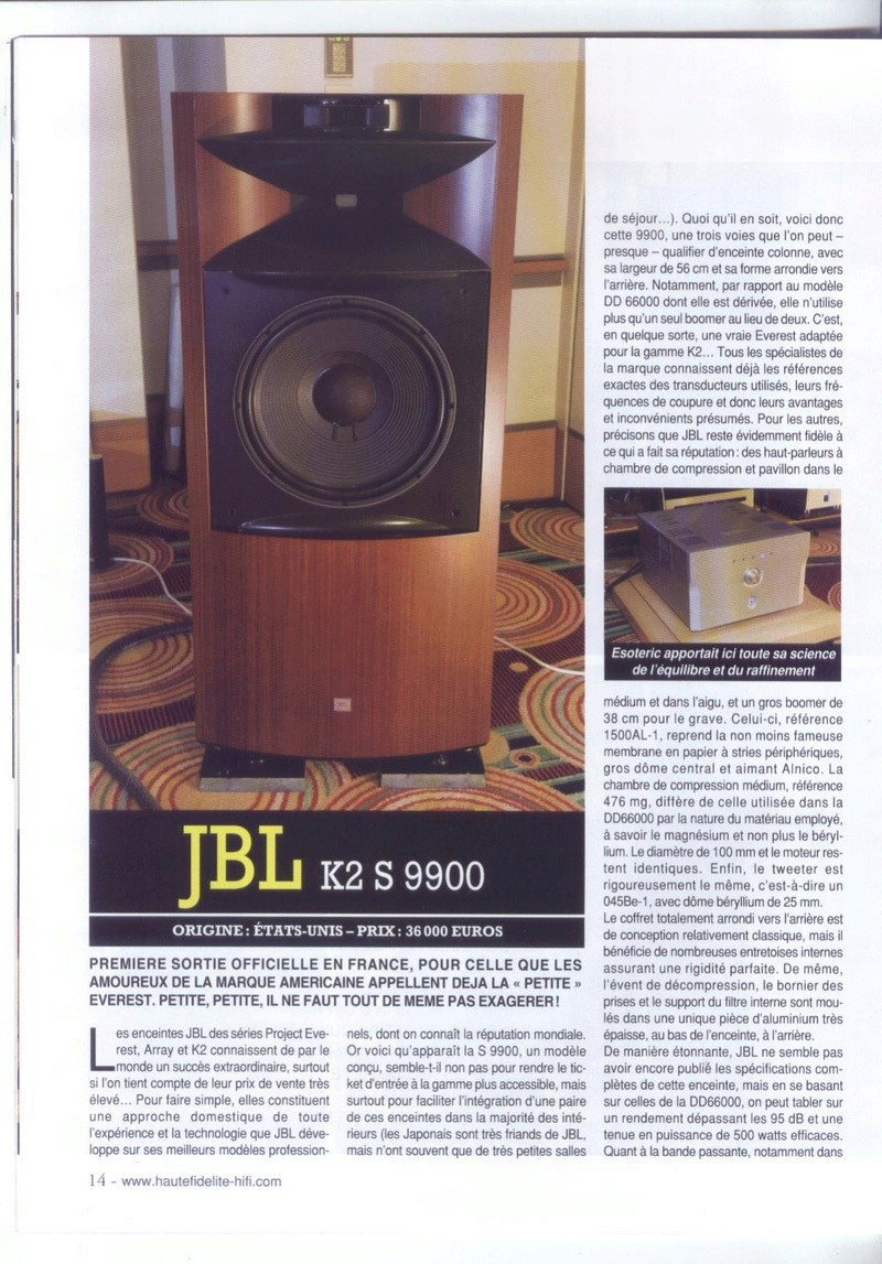 Serie K2 S9900 Banc_d24