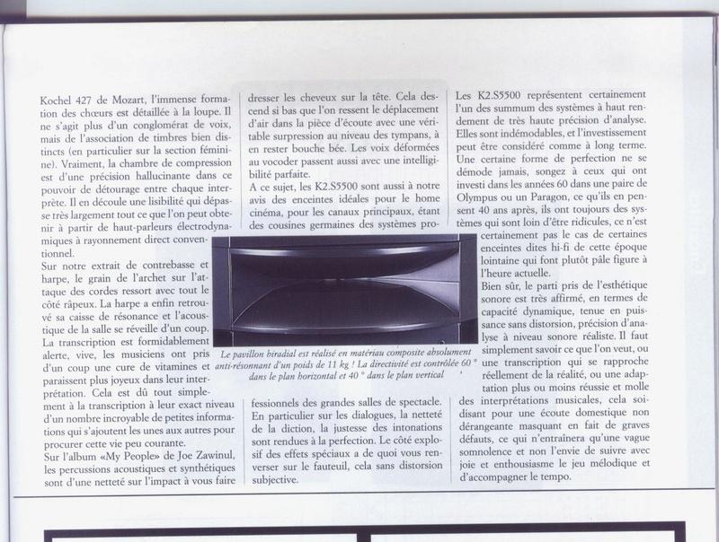 Serie K2 S5500 Banc_d36