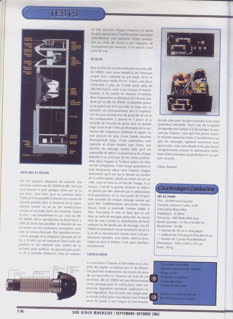 Serie K2 S9800 Banc_d41