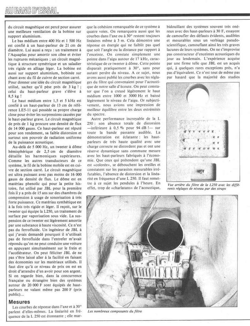 Modèle L250 Année 1982 Jbl_l212