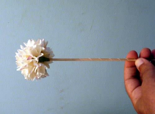 Comment faire un bouquet de jasmin...Etape par étape par moi même 1010
