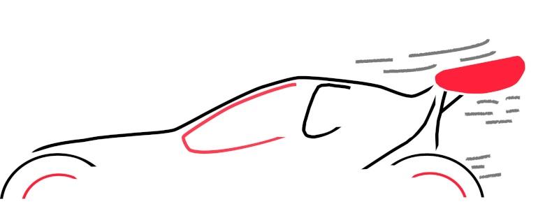 croquis dessin voiture TT Logo_p10