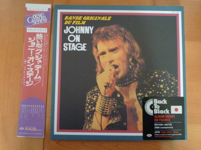 "33 tours ""Johnny on stage"" JAPON Disqu122"