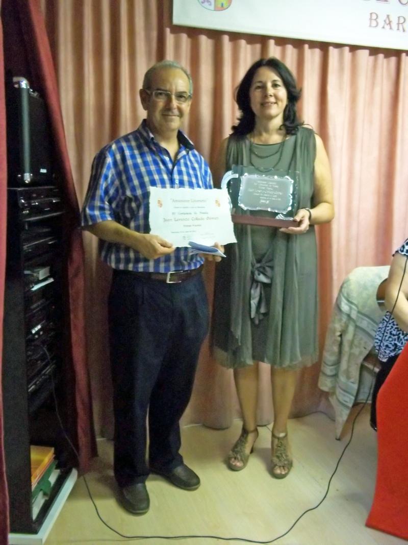 """FOTOS XV CERTAMEN DE POESÍA """"AMANECER LITERARIO"""" 2012 DEL CÍRCULO DE CASTILLA Y LEÓN EN BARCELONA Premio10"""