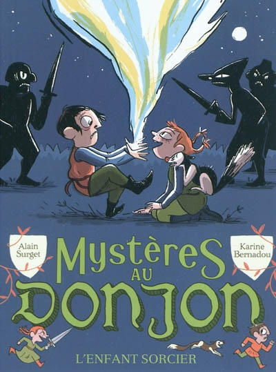 Partenariat n°25 et 26 : MYSTERES AU DONJON (Tome 1 et 2) offert par Flammarion Jeunesse 97820813