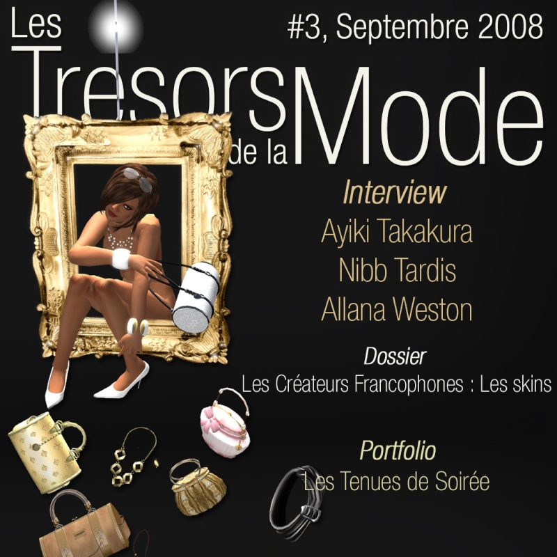 Sortie du numéro 3 des Tresors de la Mode Magazine Couver11