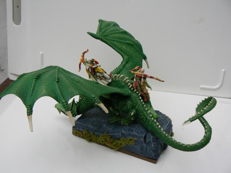 Mon Armée Elfes Sylvains Dragon11