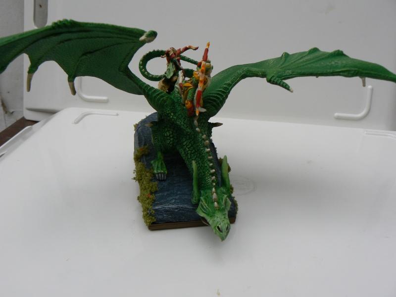 Mon Armée Elfes Sylvains Dragon12