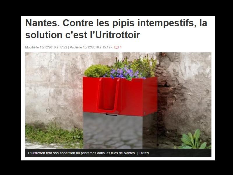 """Au revoir les """"pipis sauvages"""", bonjour les fleurs :l'Uritrottoir débarque à Paris et à Nantes Sans_t15"""